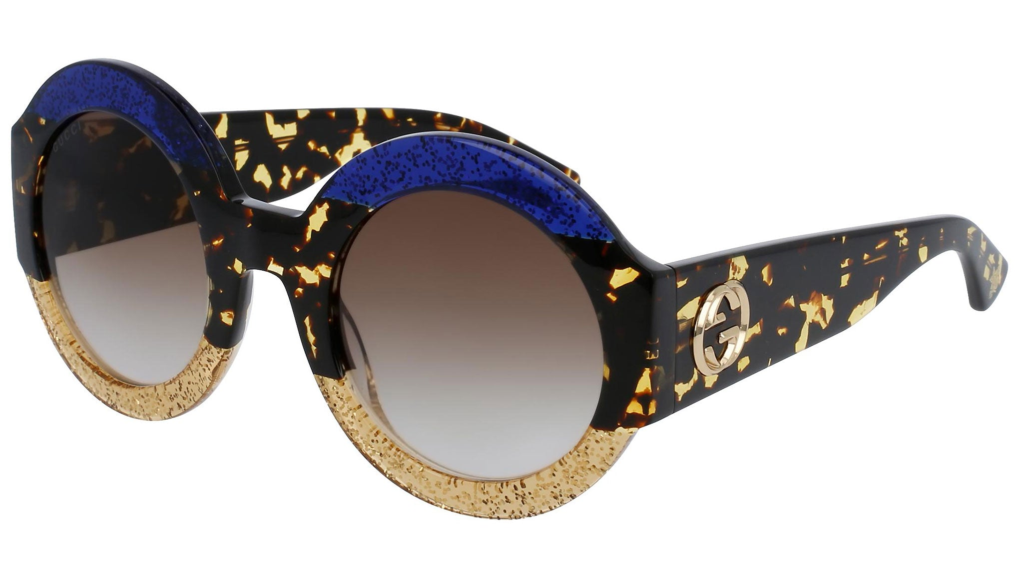 GG0084S gold blue and shaded brown