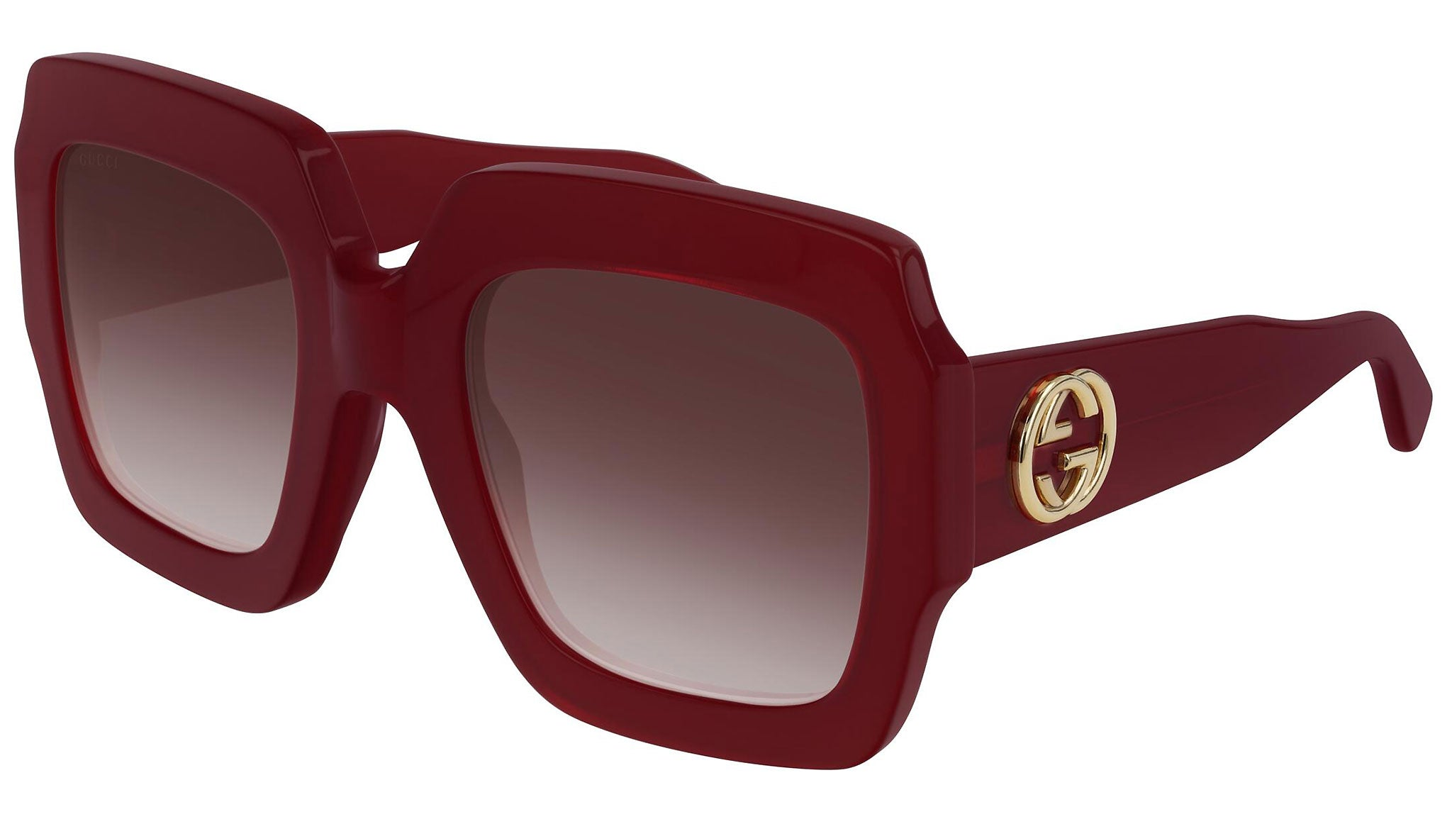 GG0178S shiny red and burgundy