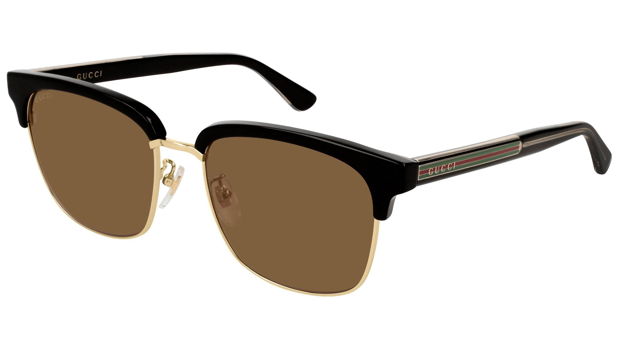 GG0382S gold black and tabac