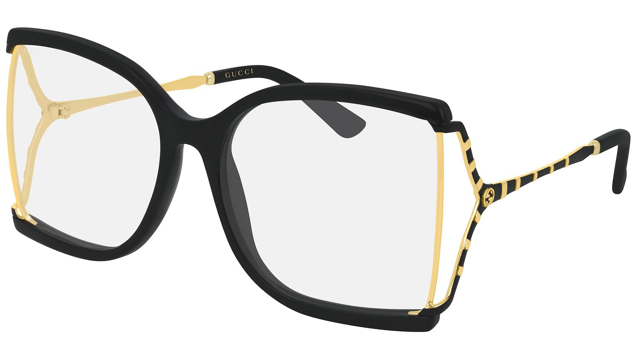 GG0592S gold black and clear