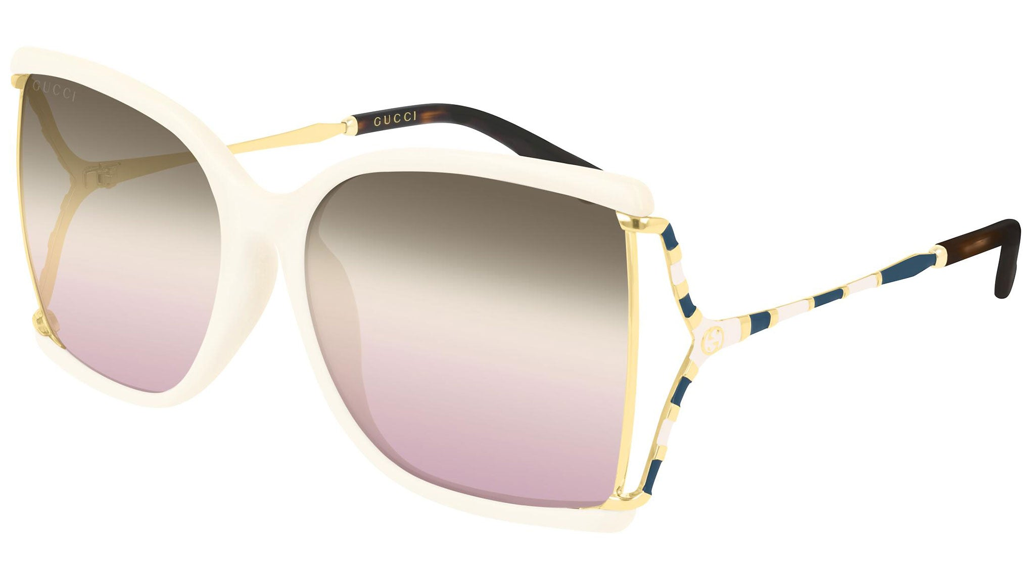 GG0592SK gold ivory and triple grey/ pink
