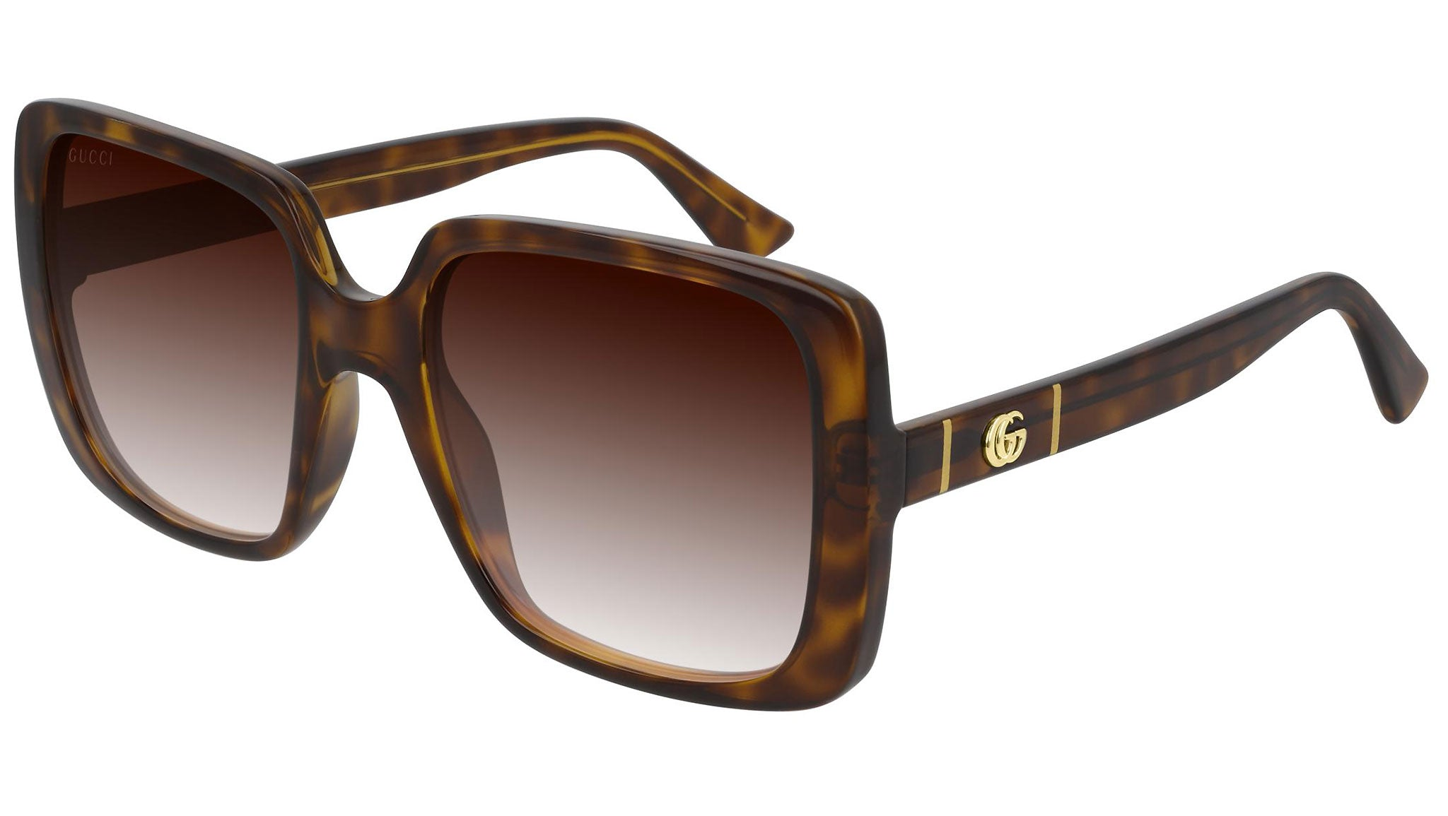 GG0632S shiny havana and brown