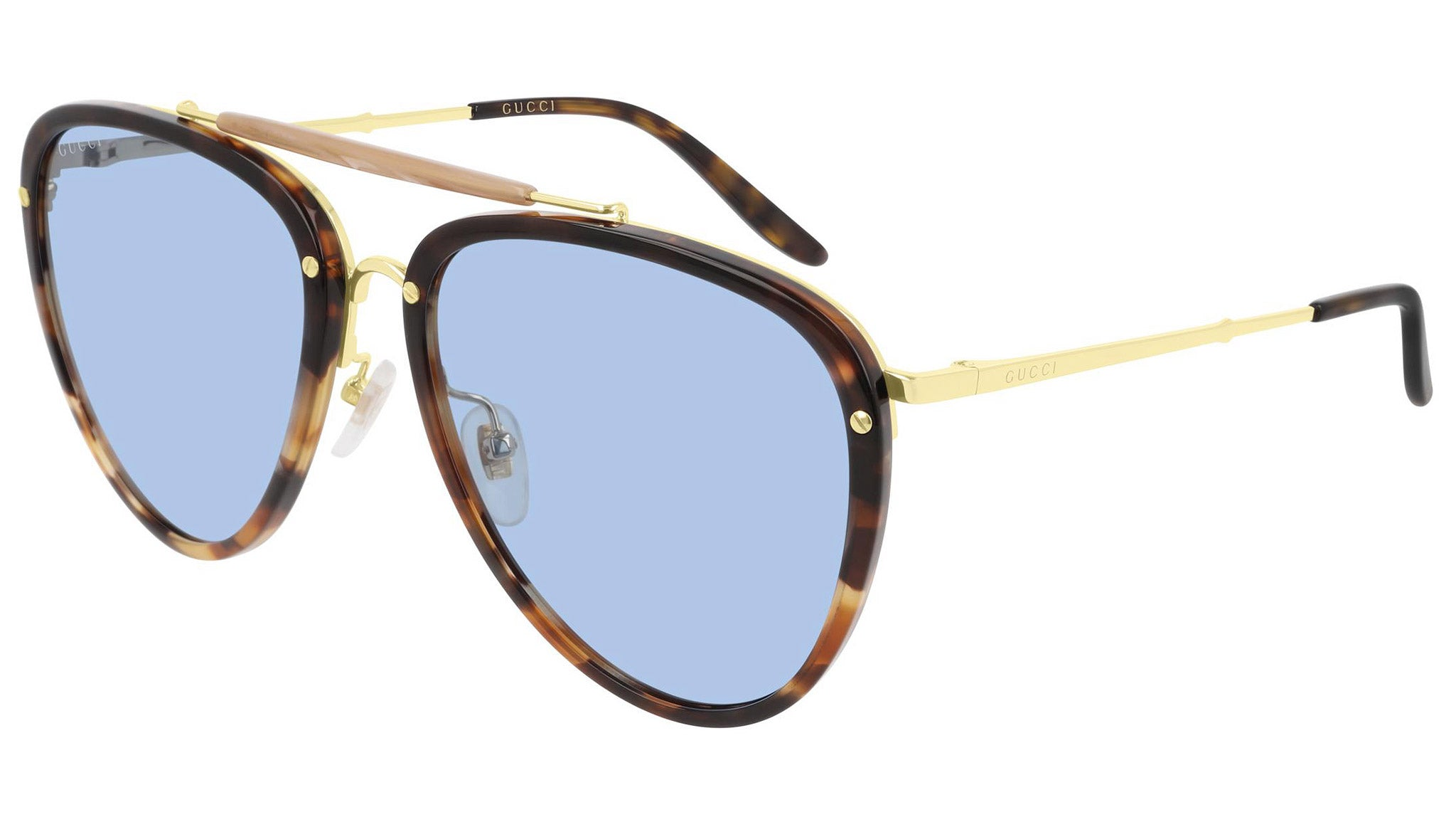GG0672S yellow havana and blue