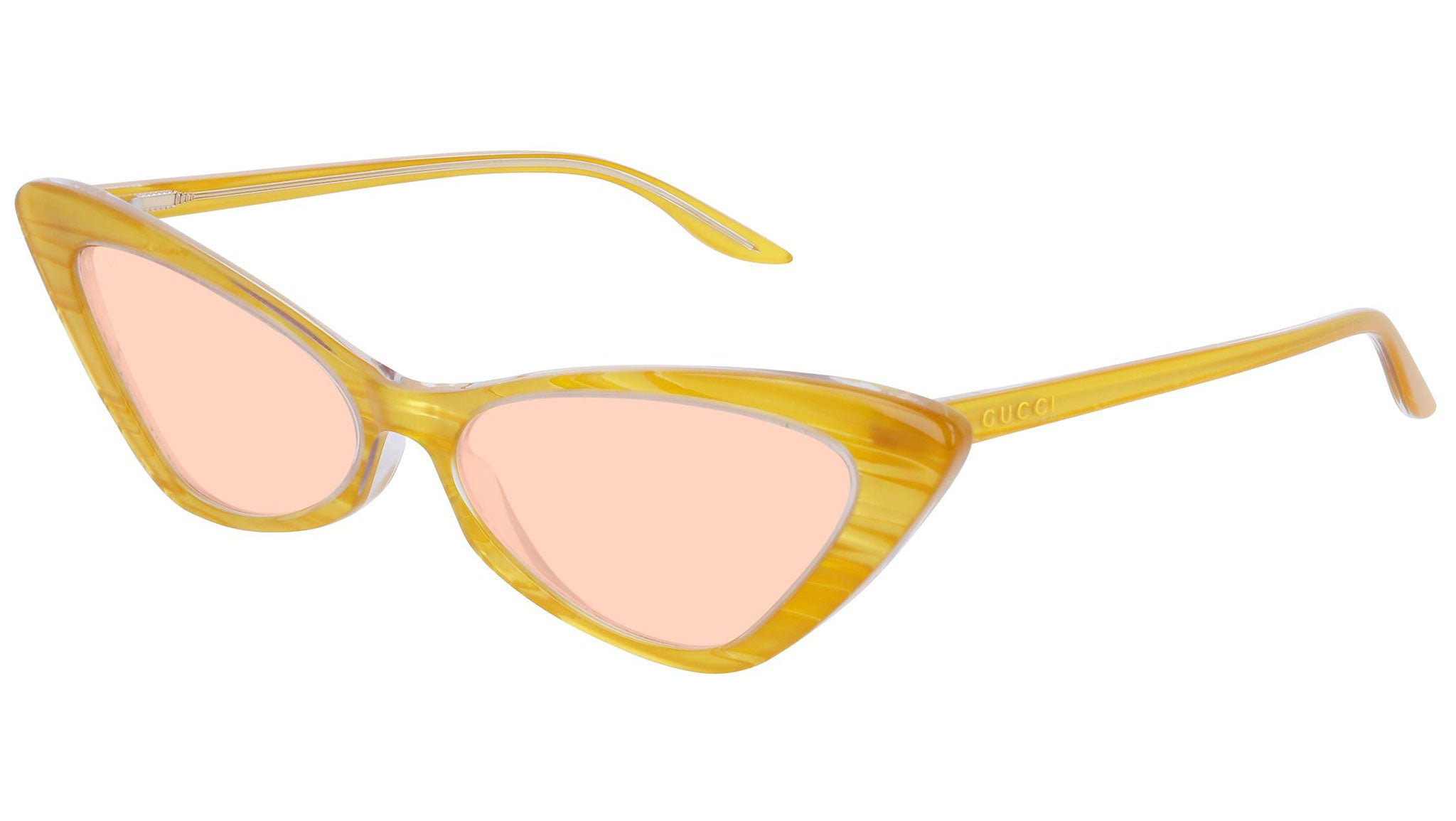 GG0708S crystal yellow and pink