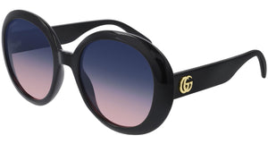 GG0712S 002 shiny black