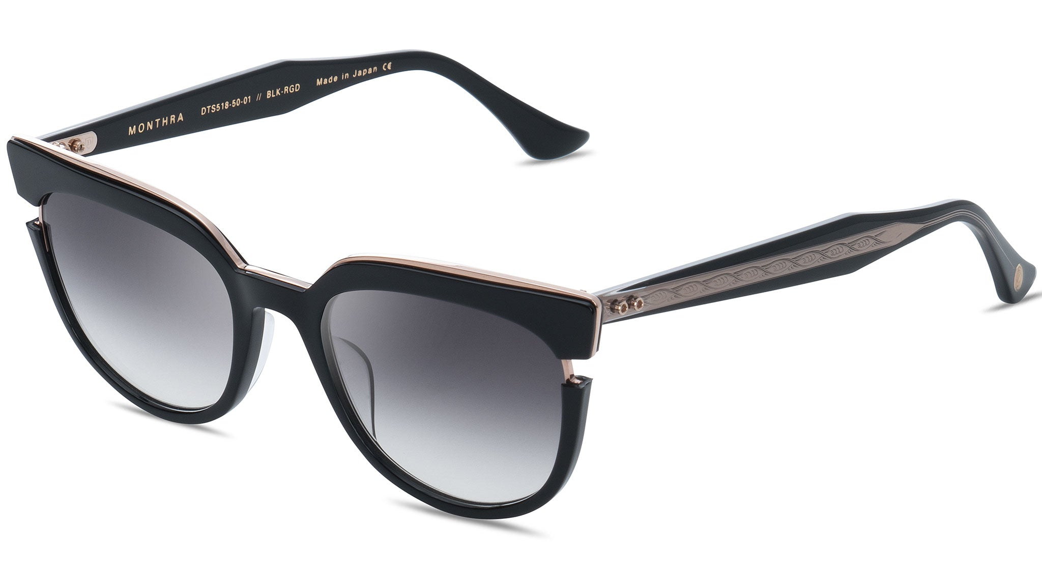 Monthra DTS 518 01 black and rose gold