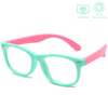 KidzCo MultiFlex Screen Time Glasses (UV400) - TURQUOISE/PINK