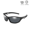 KidzCo MultiFlex Sport Sunglasses (UV400) - BLACK