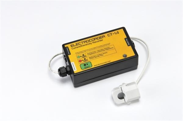 Electrocorder CT-1A Single Phase Current Logger for Domestic and Commercial Appliances
