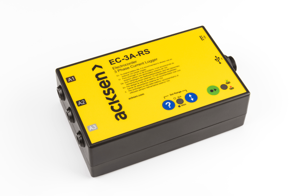 Electrocorder EC-3A-RS Current Logger for Industrial and Commercial Appliances
