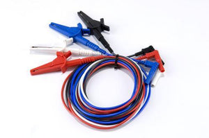 Fused voltage input lead set (USA colours)