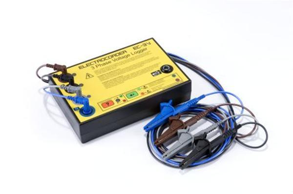 Rental - Electrocorder EC-3V Three Phase Voltage Logger for Commercial and Industrial Applications