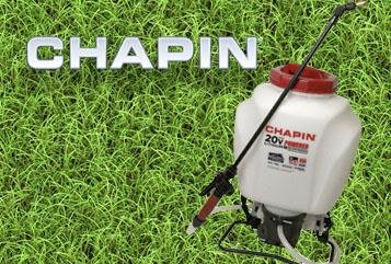 20 Volt Backpack sprayer | chapinmfg