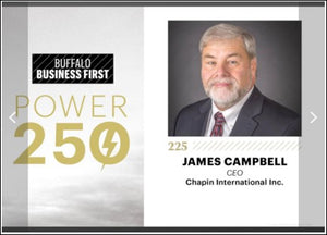 Jim Campbell, President & CEO, Named to the Power 250 List