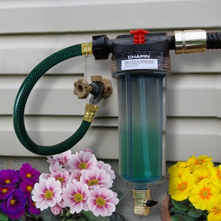 HydroFeed unit on house outside