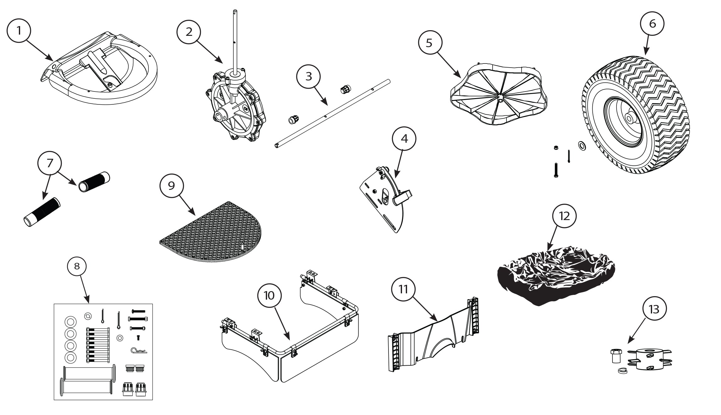 82108B replacement parts diagram