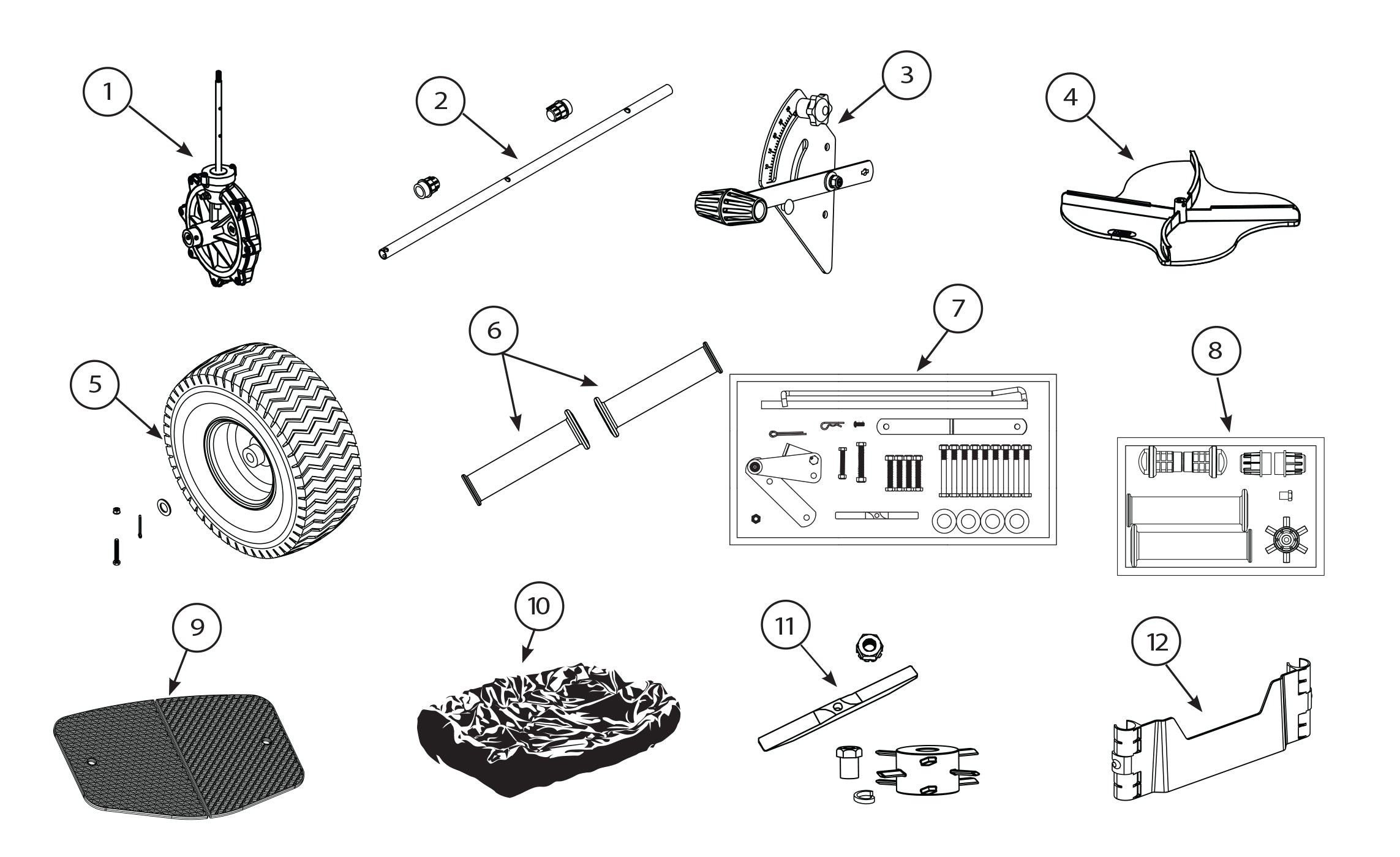 8301C Replacement Parts