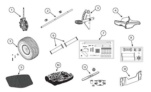 Chapin 8303 Replacement Parts