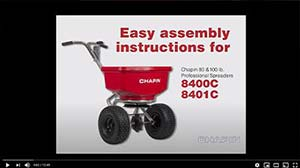 Chapin 8400 & 8401 Spreader Assembly