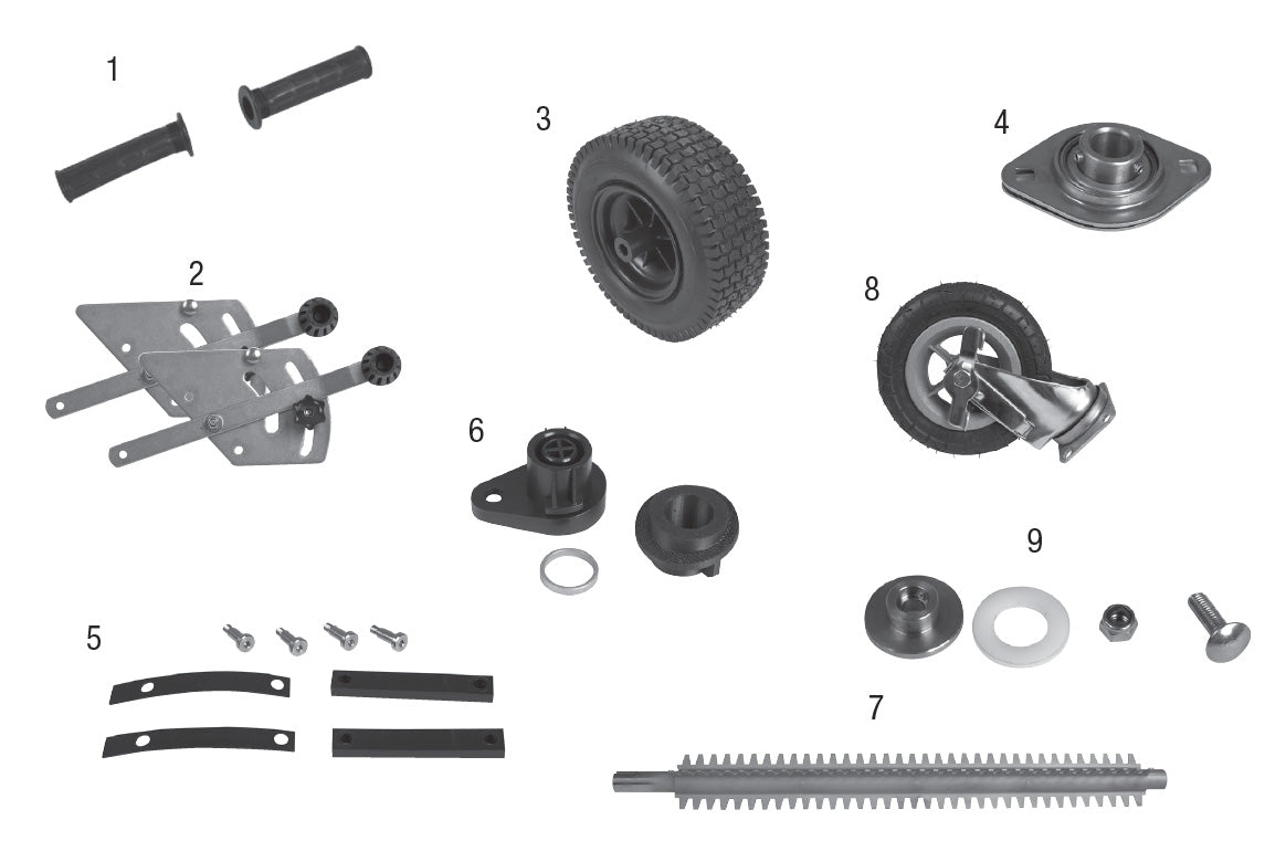 8500B Replacement Parts
