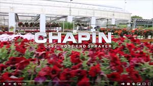 Chapin G362 Product Video