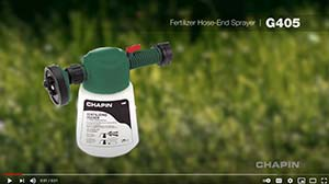 Chapin G405 Hose End Sprayer Product Video