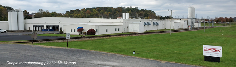 Chapin manufacturing plant in Mt. Vernon KY
