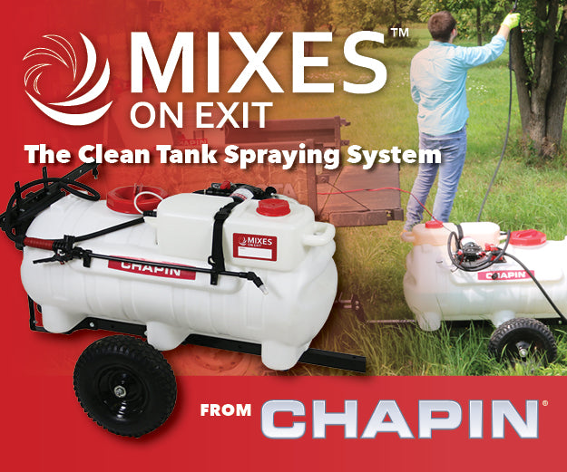 Tow Behind Mixes on Exit Sprayer - Chapin