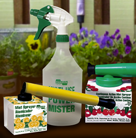 Trigger sprayer and mister examples