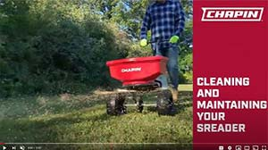 Chapin spreader cleaning & maintenance
