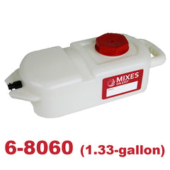 mixes on exit - 6-8060 concentrate tank