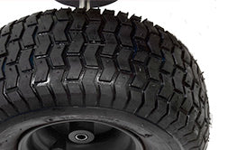 Rugged Fully Pneumatic Tires