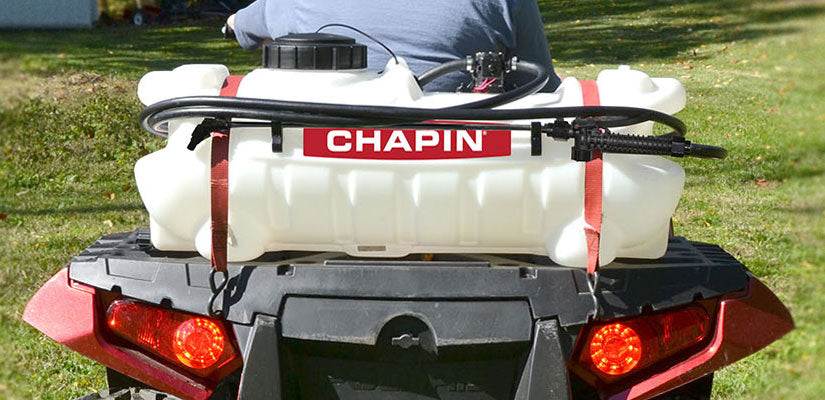 Chapin ATV Sprayer in use on ATV