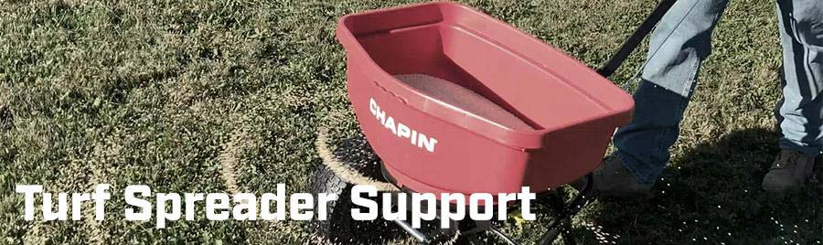 Chapin Turf Spreaders Support Video