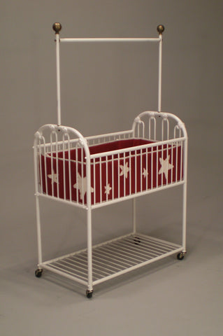 Ruby Vintage Hospital Cradle with Netting Rig