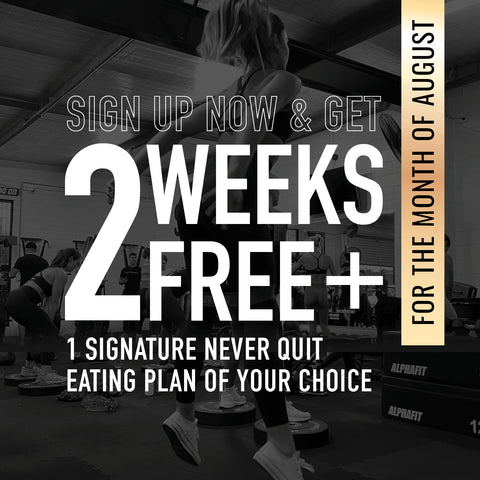 sign up and get 2  weeks free and eating plan