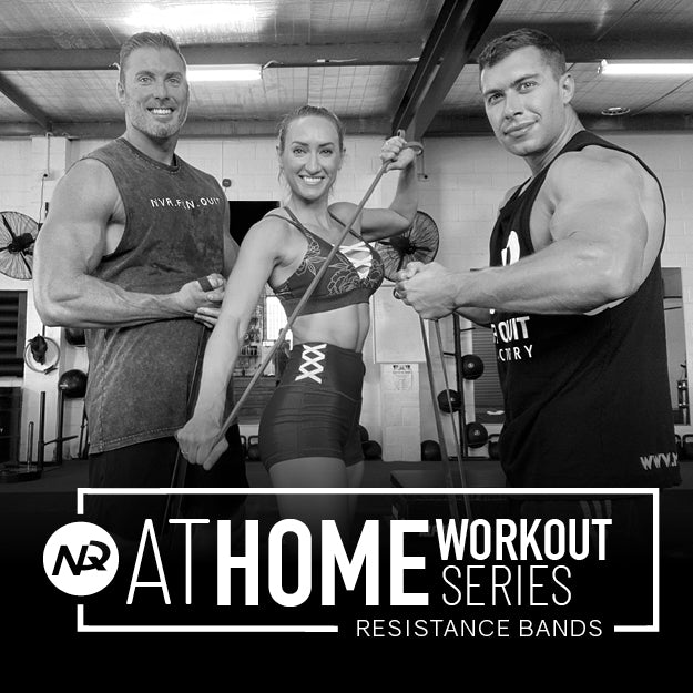 AT HOME WORKOUT SERIES - RESISTANCE BANDS