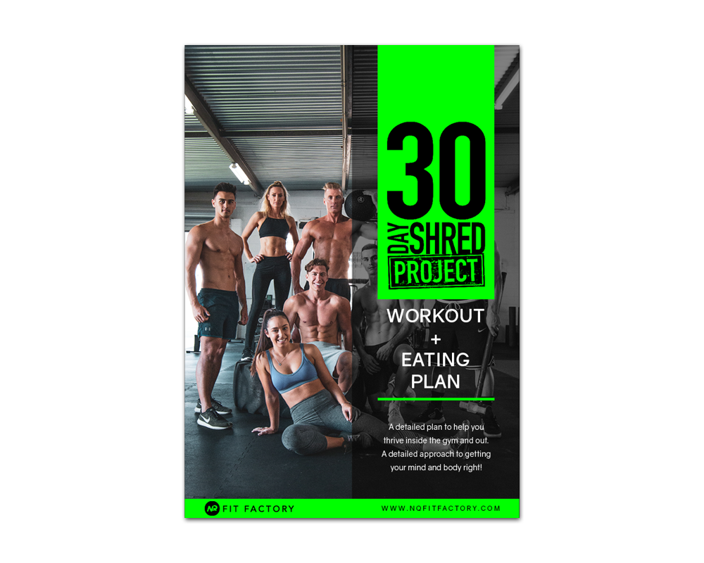 30 DAY SHRED PROJECT