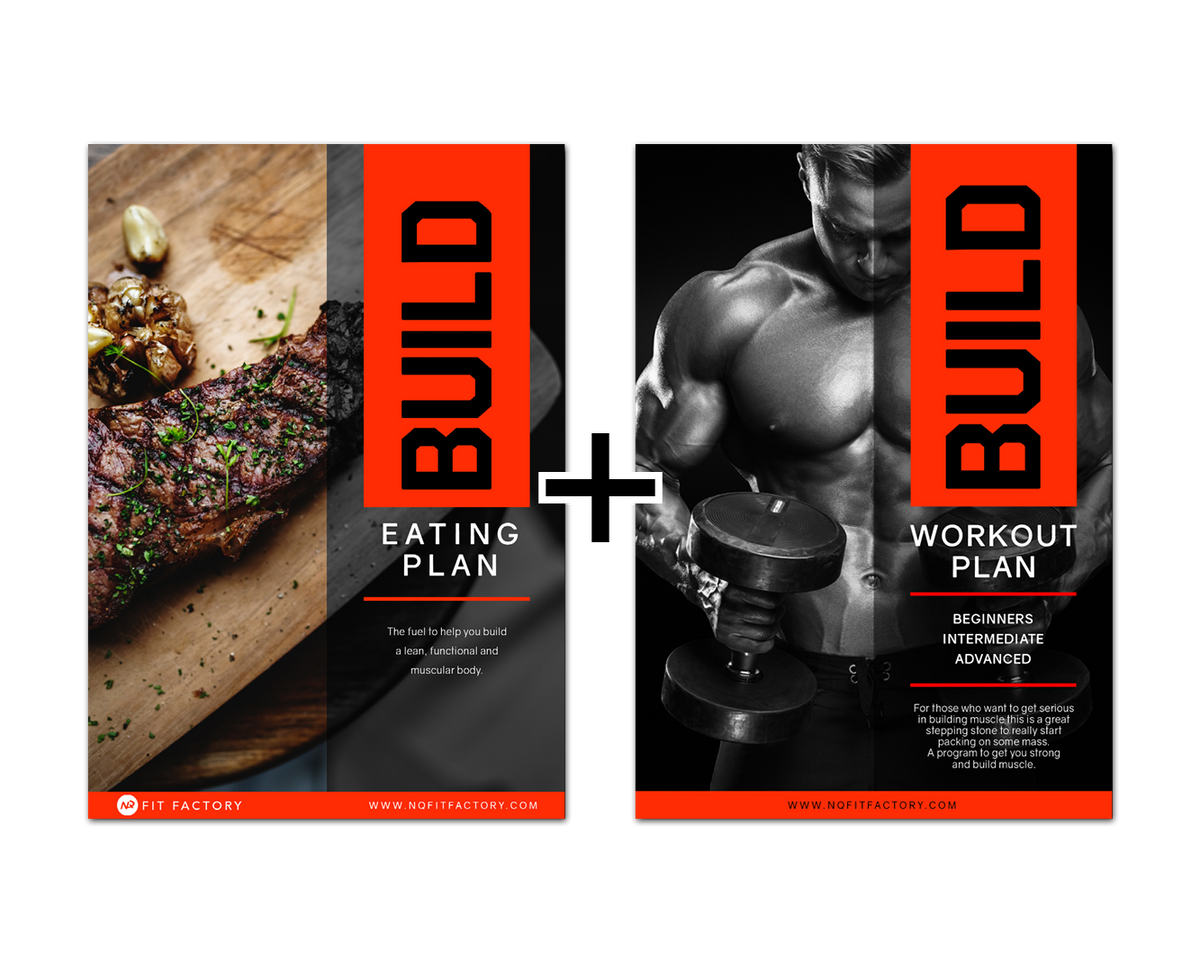 BUILD PACK - WORKOUT AND EATING PLANS