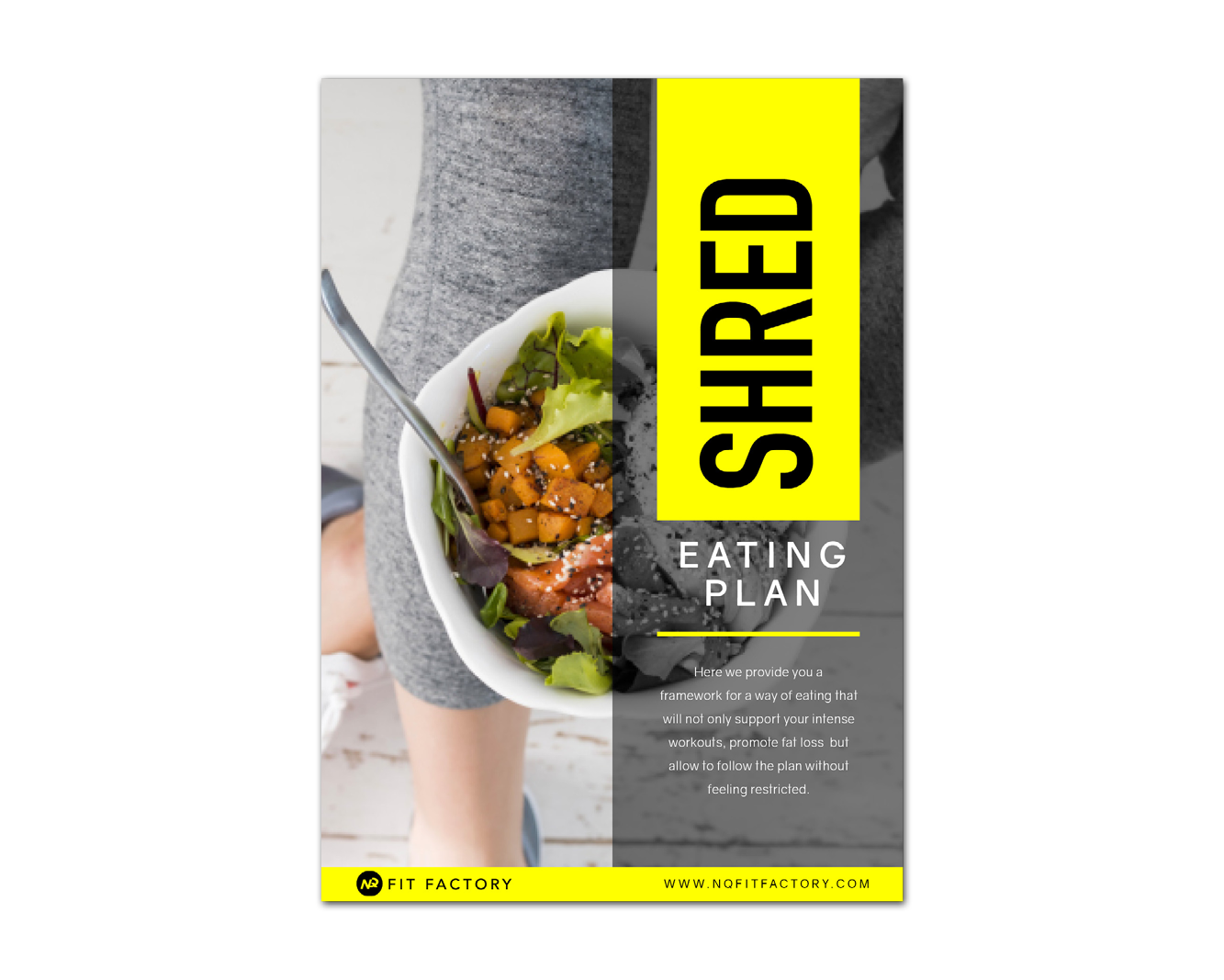 SHRED EATING PLAN