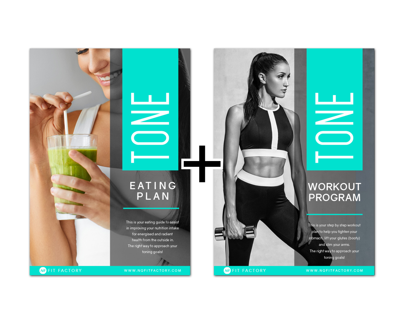TONE PACK - WORKOUT AND EATING PLANS