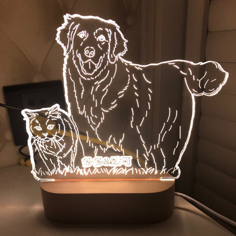 Customized 3D Picture LED Lamp