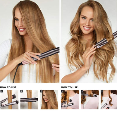 Emeculus Pro 2 in 1 Curling Iron/hair curler