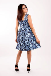 Robe en wax - DIANE