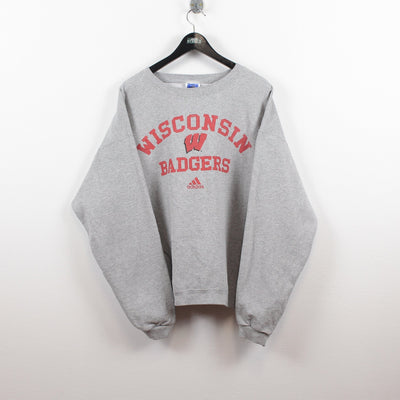 Vintage Adidas x Wisconsin Badgers Sweater L-Greenstreet-Vintage