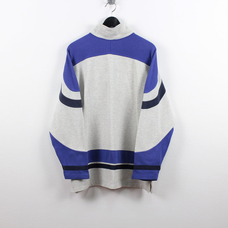 Vintage Champion 14 Zip Sweater L