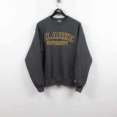 Vintage Champion x Clarke University Sweater S-Greenstreet-Vintage