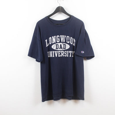 Vintage Champion x Longwood University T-Shirt XL-Greenstreet-Vintage