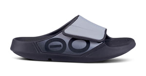 Ooahh Sport Flex Slide Sandal - Black/Grey