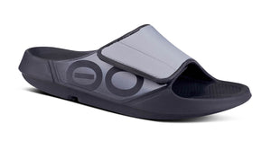 OOahh Sport Flex Sandal- Black & Grey